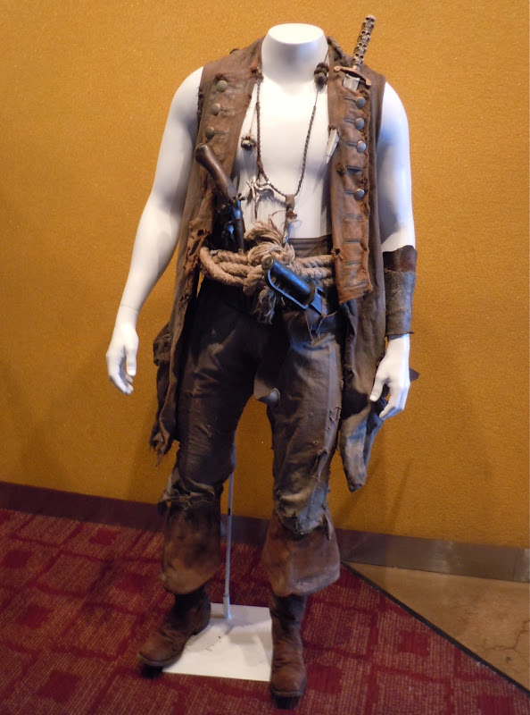 Pirates of the Caribbean 4 Quartermaster costume