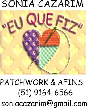 """""""Eu que fiz"""" - Patchwork e Afins"""