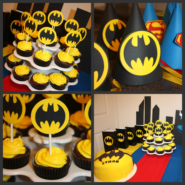 Lilli's Baby Shower Creations: Ethan's Super Hero Birthday