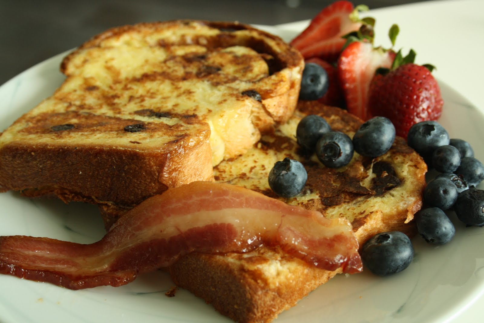 Now, One Cannot Make Raisin Bread And Not Make French Toast As A Side To