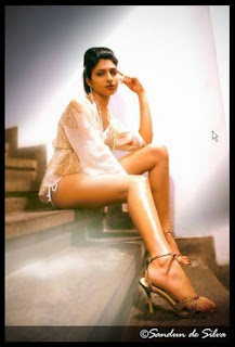 Michelle Maneesha Perera long legs