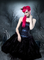 Dark Twilight Wedding Gown