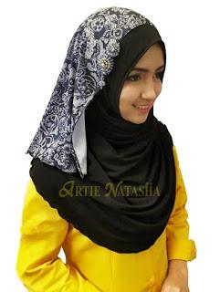 instant shawl tudung fabrik moss crepe lycra bercorak desain terbaru