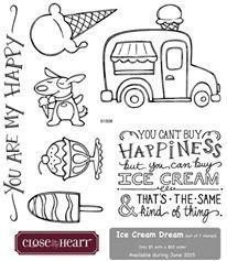June 2015 Stamp of the Month~ Ice Cream Dream