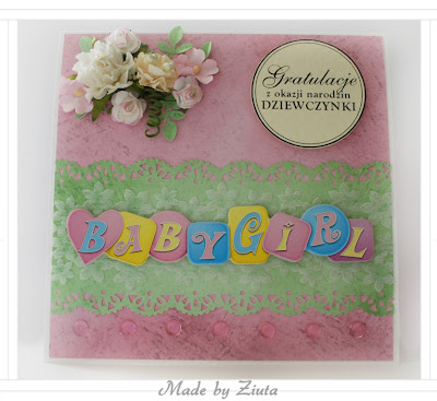 scrapbooking narodziny dziecka gratulacje