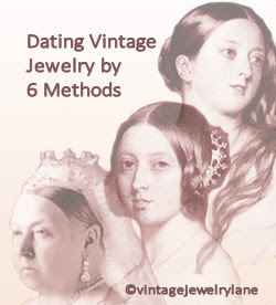 dating vintage jewelry