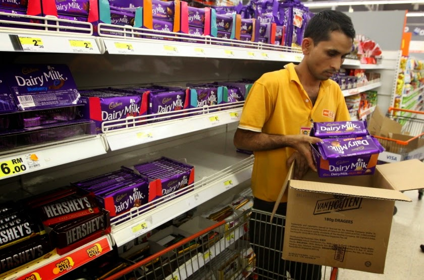 Malaysian Muslims Declare Jihad On Cadbury Chocolate