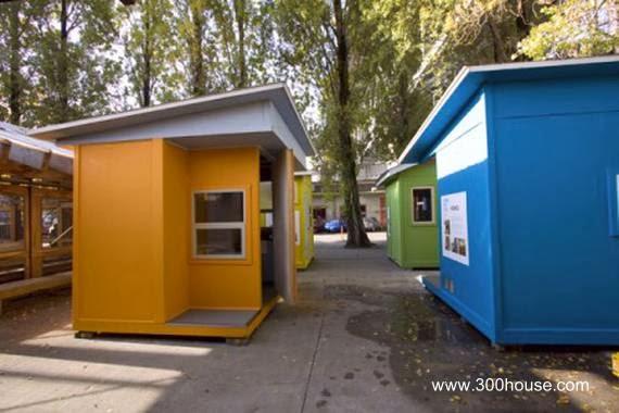 Casas para homeless en Canadá