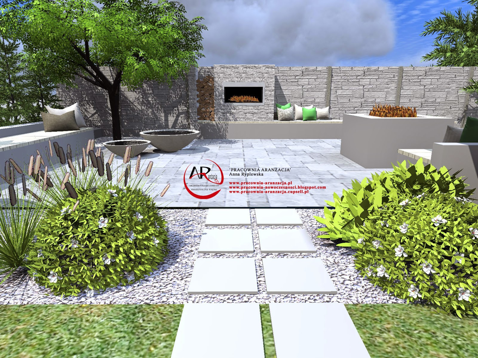 projektowanie i realizacja ogrodu