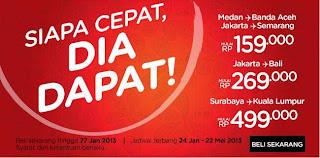Promo tiket pesawat Murah 2013