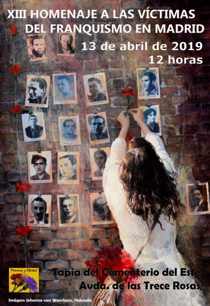 13 de abril Homenaje a las victimas de la Dictadura