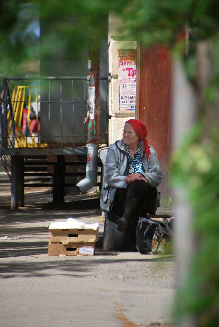Лысьва, на улице Мира