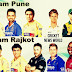 Pune Warriors and Gujarat Lions(Rajkot) Team Squad in IPL Auction 2016