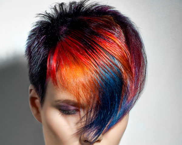 Crazy Hair Styles: edgy girl hairstyles