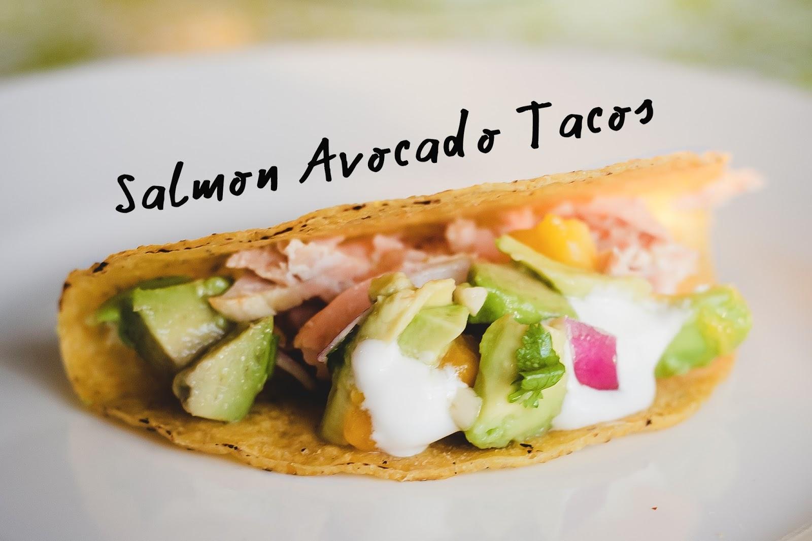 salmon avocado taco recipe