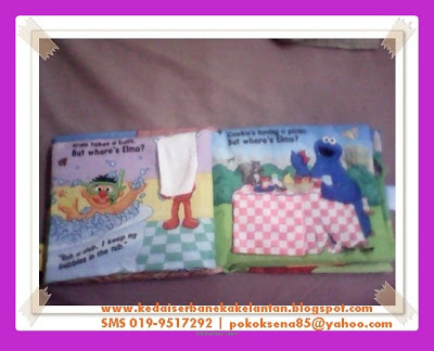 Softbook Where Elmo Page 3 & 4