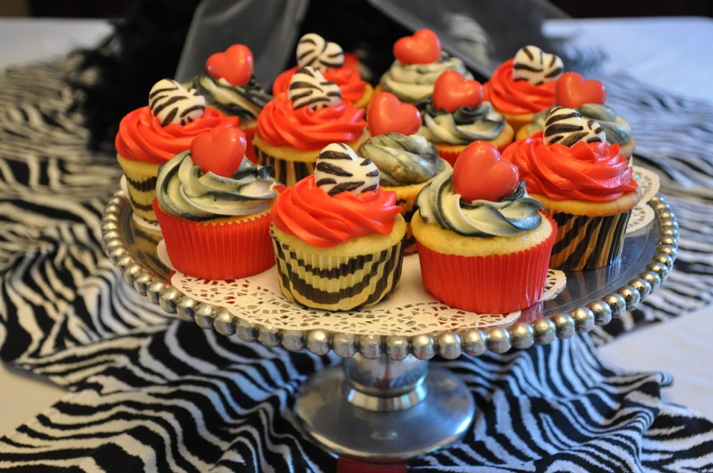 Indulge With Me Zebra Cupcakes