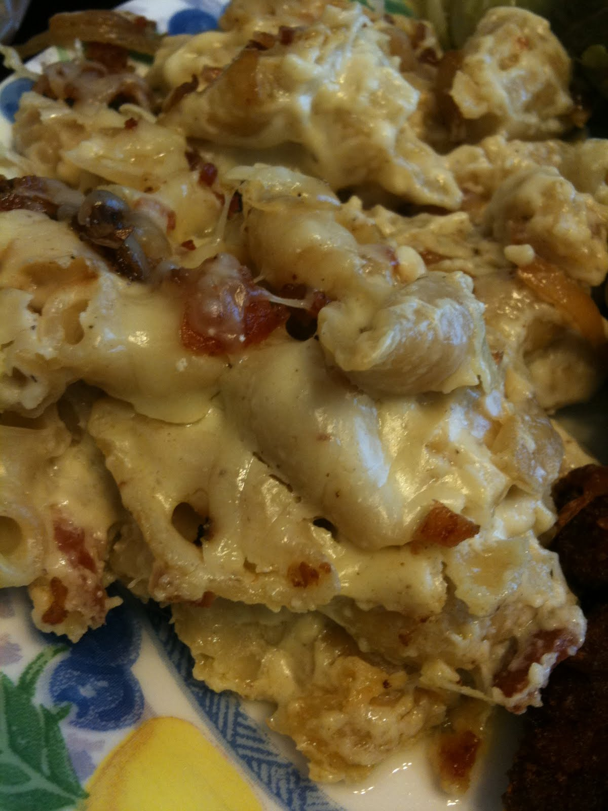Loving cooking from scratch: 4 Cheese Fancy Baked Mac N Cheese