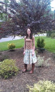 Elastic Band Skirt Tutorial
