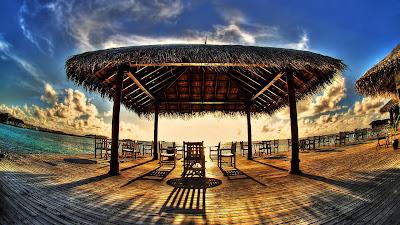 Beach Sun Nature HD Background Wallpaper for Laptop Widescreen
