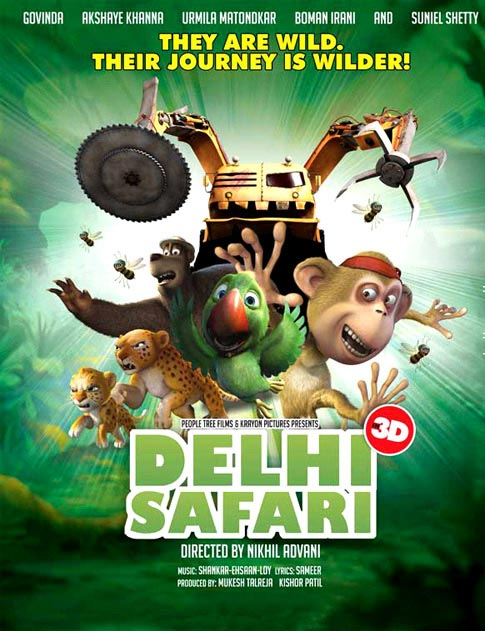Delhi Safari (2012) 480p.BluRay.x264-mSD