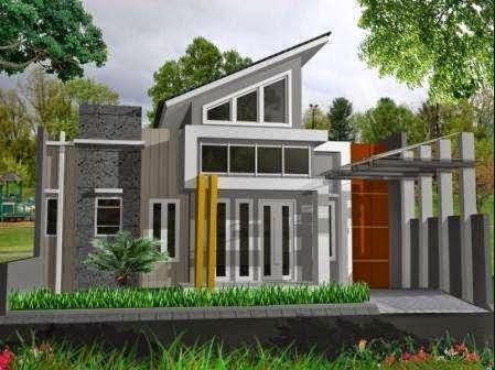 Rumah minimalis desain elegan