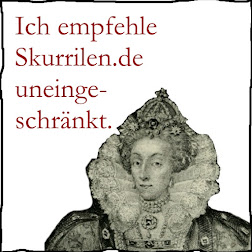 Empfohlen von Ihrer Majestät Elisabeth I., Königin von 1558 bis 1603