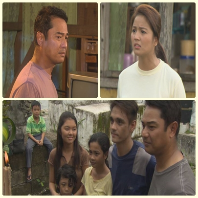 Ariel Rivera with new Kapamilya Ynna Asistio on MMK