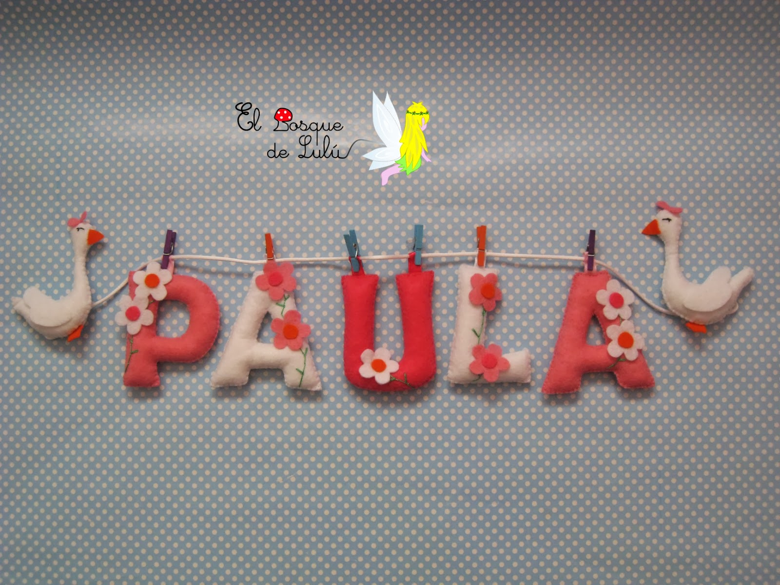 nombre-decorativo-fieltro-name-banner-Paula-infantil-decoración