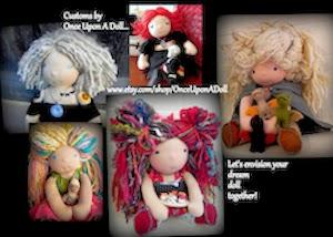Custom Doll Listings on Etsy