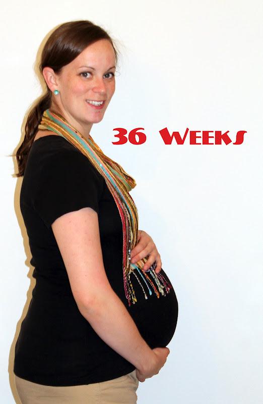 Menstrual cramps 36 weeks pregnant