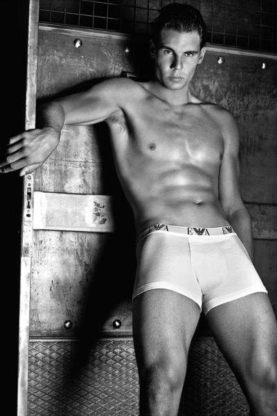 Rafa Nadal para Armani Jeans y Emporio Armani Underwear otoño invierno 2011 2012
