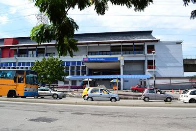 Taman Bahagia LRT Station Putra Kelana Jaya Line
