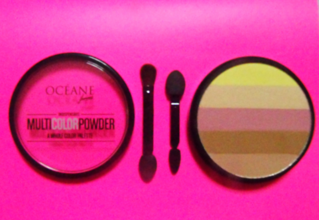 Testei o Multicolor Powder Océane Femme
