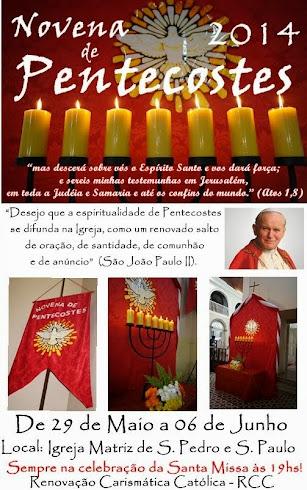 Novena de Pentecostes 2014