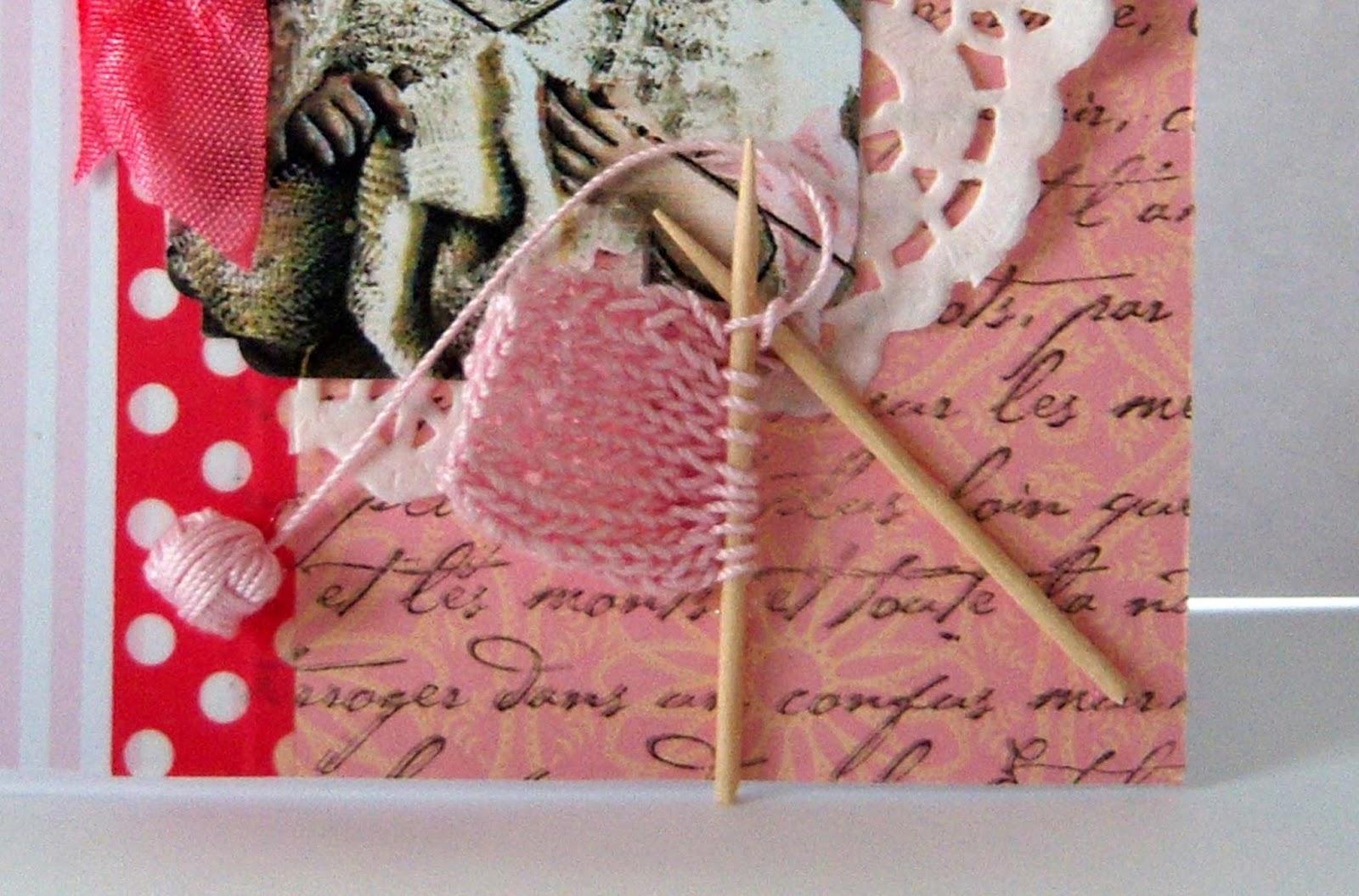 Knitting Birthday Card : Shoregirl s creations knitting birthday