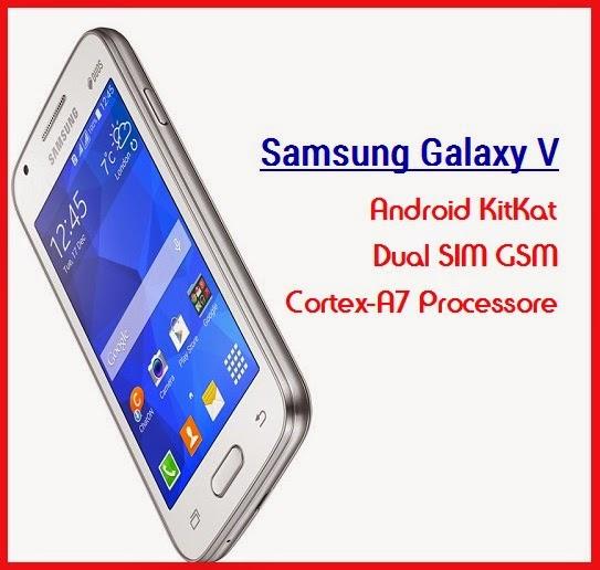 Harga HP Samsung Galaxy V dan spesifikasi