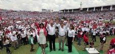 Peña Nieto y Torres Landa, arrasan en Guanajuato.