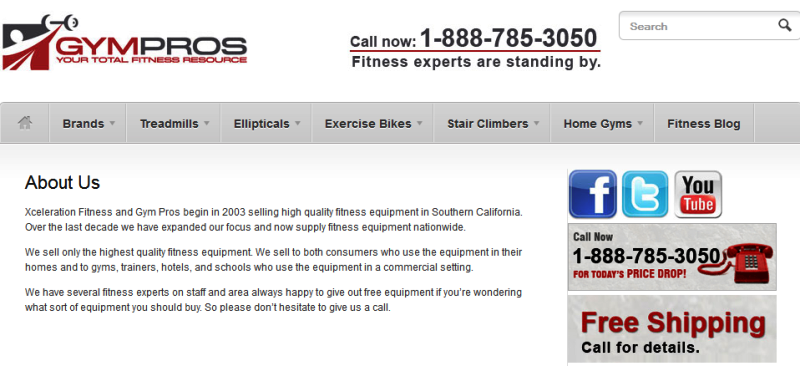 trusted online supplier of high quality fitness equipment