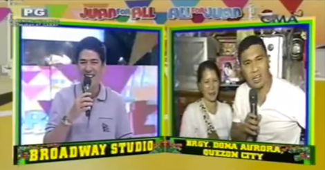 Juan for all, All for Juan, Barangay Doña Aurora, Quezon City Jose Manalo Imitates Willy Revillame