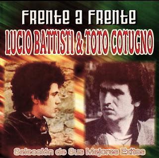 LUCIO BATTISTI Y TOTO COTUGNO - FRENTE A FRENTE