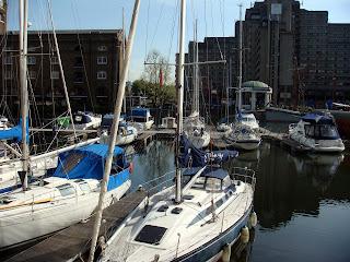 St Katharine´s Docks en Londres