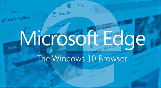 Mengenal Browser Microsoft Edge, Pengganti IE untuk Windows 10