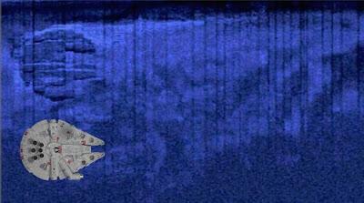 ovni del mar baltico parece el halcon milenario falcon