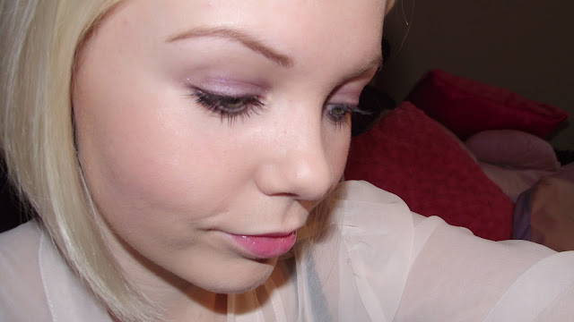 Dior 3 Couleurs Smoky Eye Shadow Palette Review - Smoky Violet 961 Swatch