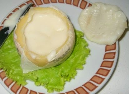 сыр в разрезе