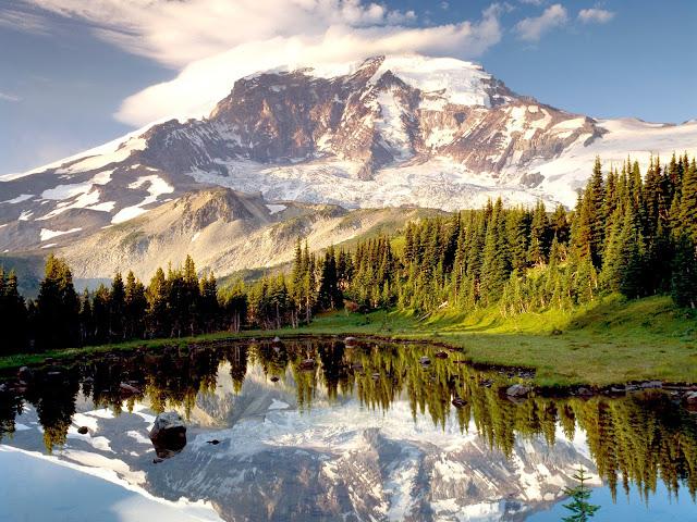 Paisaje de una maravillosa Montaña 1600x1200
