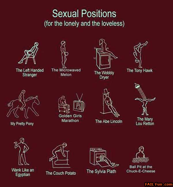 Sex positions around the house