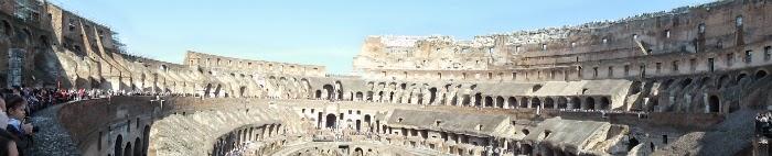 panorama la Colosseum