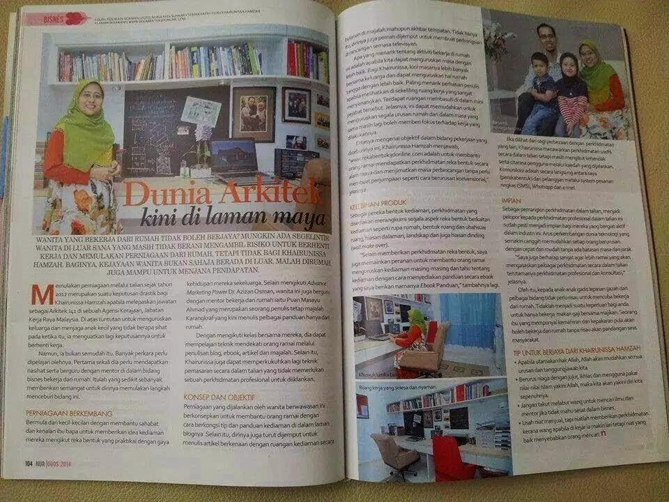 Penulis Di Majalah NUR 2014